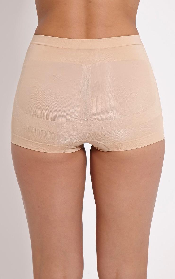 Nude Tummy Tuck Bum Lift Control Short 2