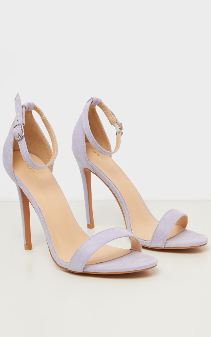 Lilac Clover Strappy Sandal 3