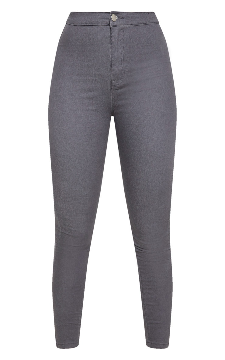 Charcoal Denim Jegging 3