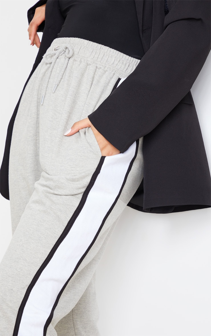 Grey Multi Side Stripe Joggers 5