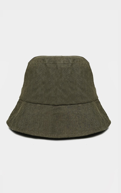 Khaki Cord Bucket Hat