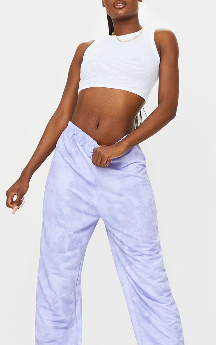 Tall Lilac Tie Dye Basic Jogger 4