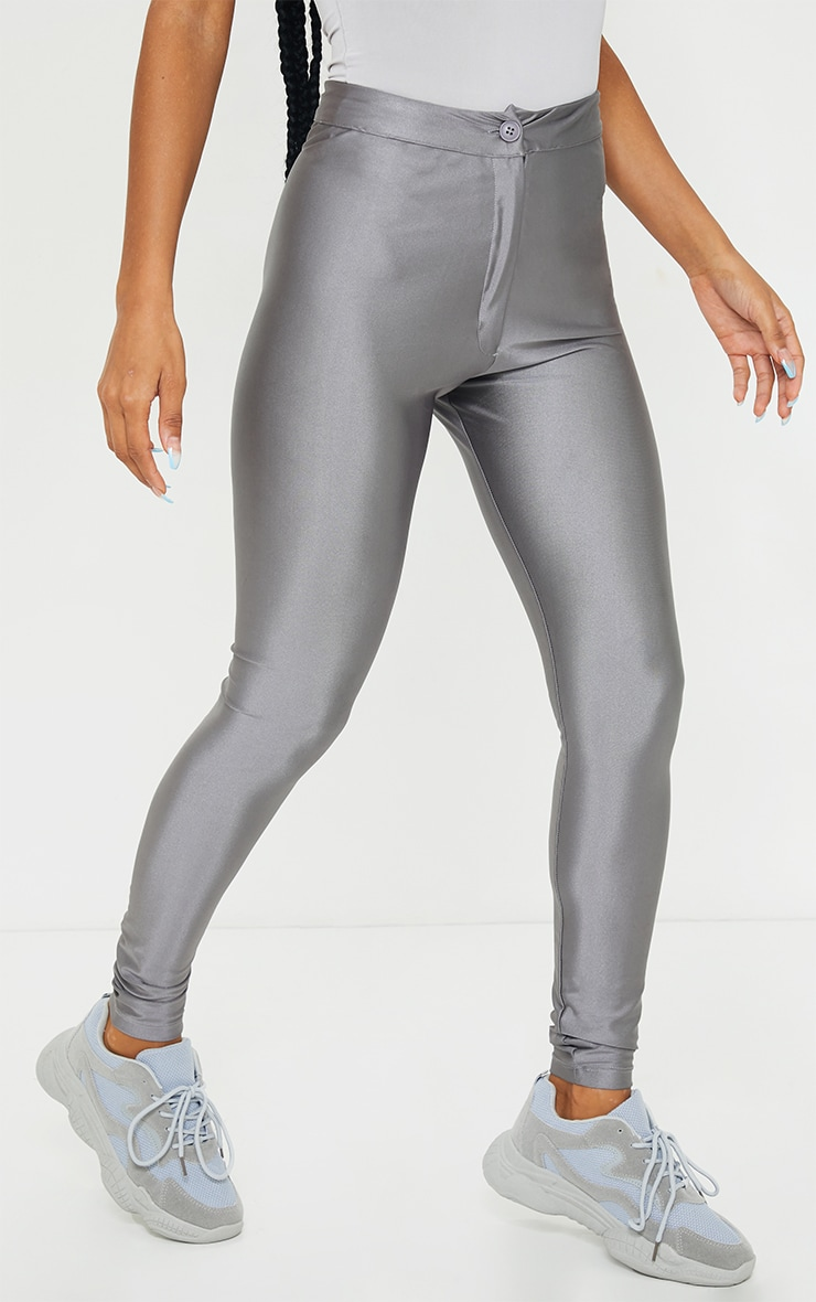 Charcoal Disco Trousers 2