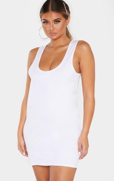 ba16d5a20 White Dresses | Little White Dresses | PrettyLittleThing