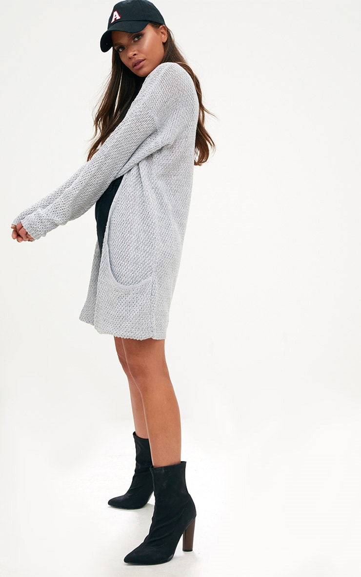 Grey Lightweight Cardigan 4
