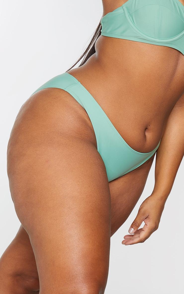 Plus Jade Mini Front Bikini Bottoms 5