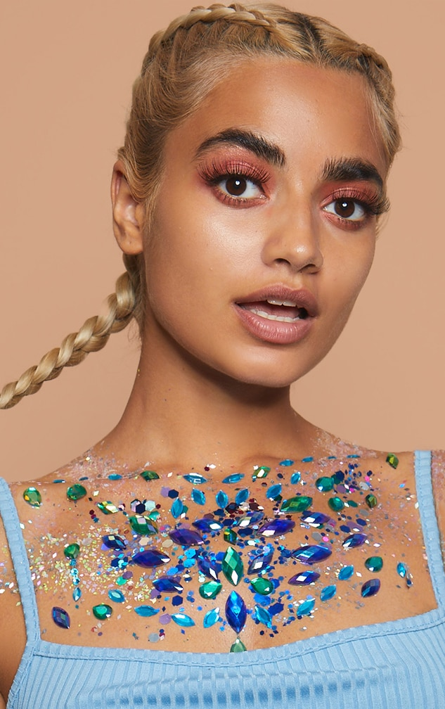 PRETTYLITTLETHING Large Individual Mermaid Body Jewels