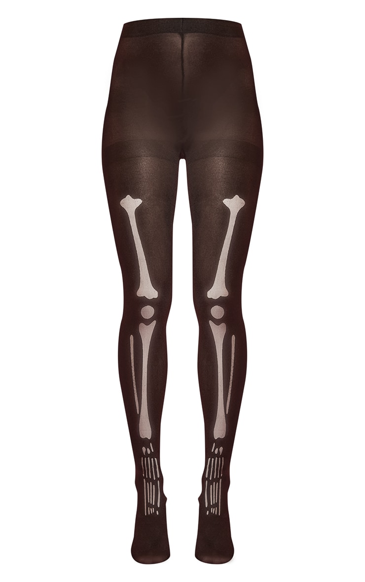 Tights Skeleton Print 5