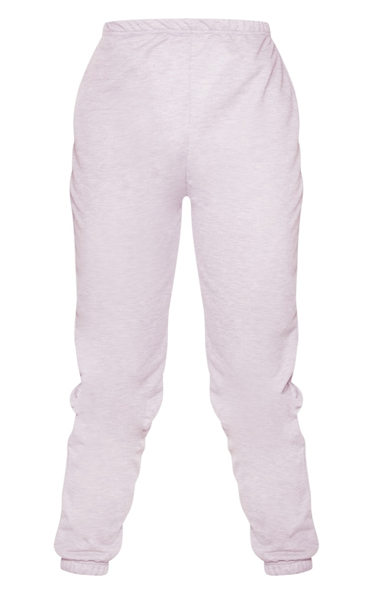 Tall Lilac Basic Cuffed Hem Joggers 4