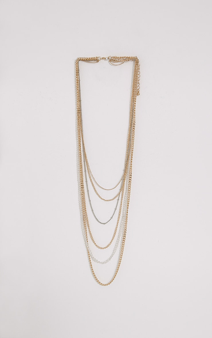 Irina Multi Chain Necklace 1