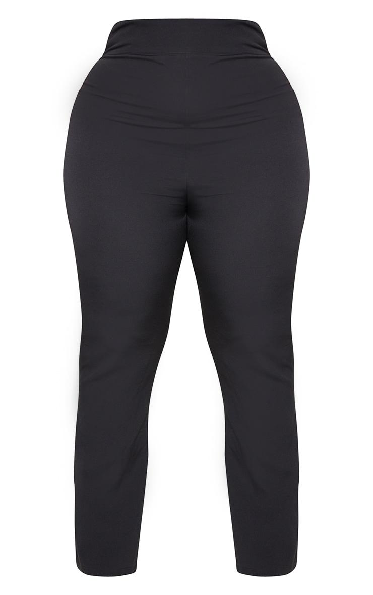 Plus Black Woven Pants 5