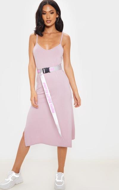 bfb33ba3d41d Midi Dresses | Knee Length Dresses UK | PrettyLittleThing
