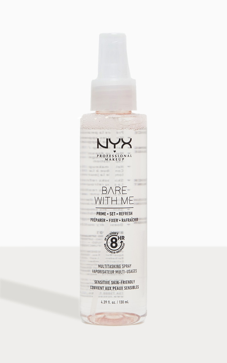 NYX Professional Makeup Bare With Me Prime Set Refresh Spray image 1