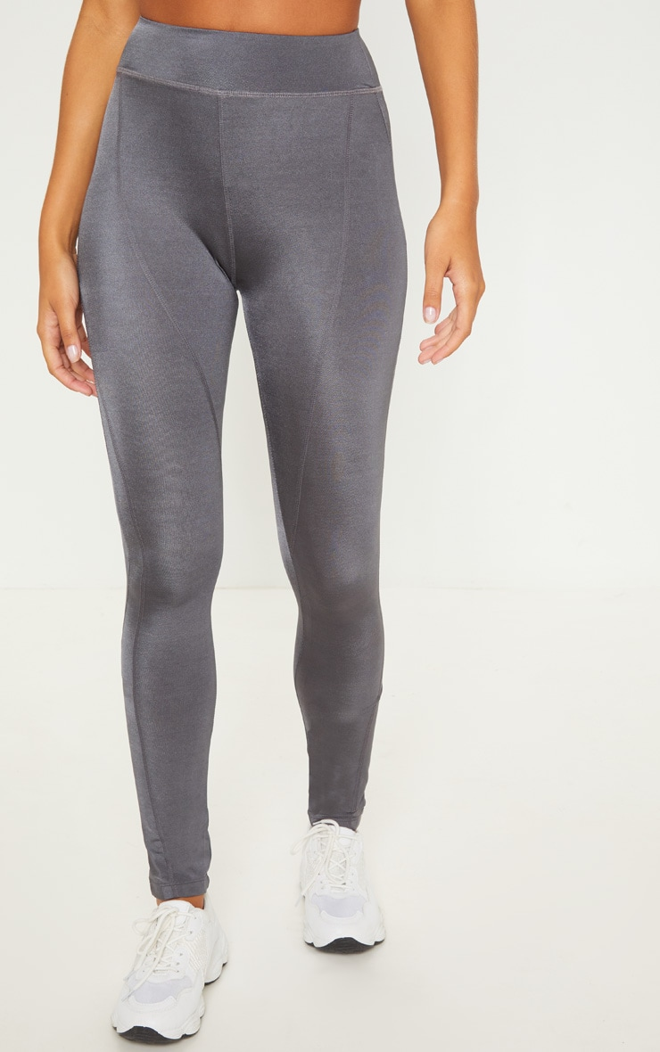 Charcoal High Waisted Sports Legging 2
