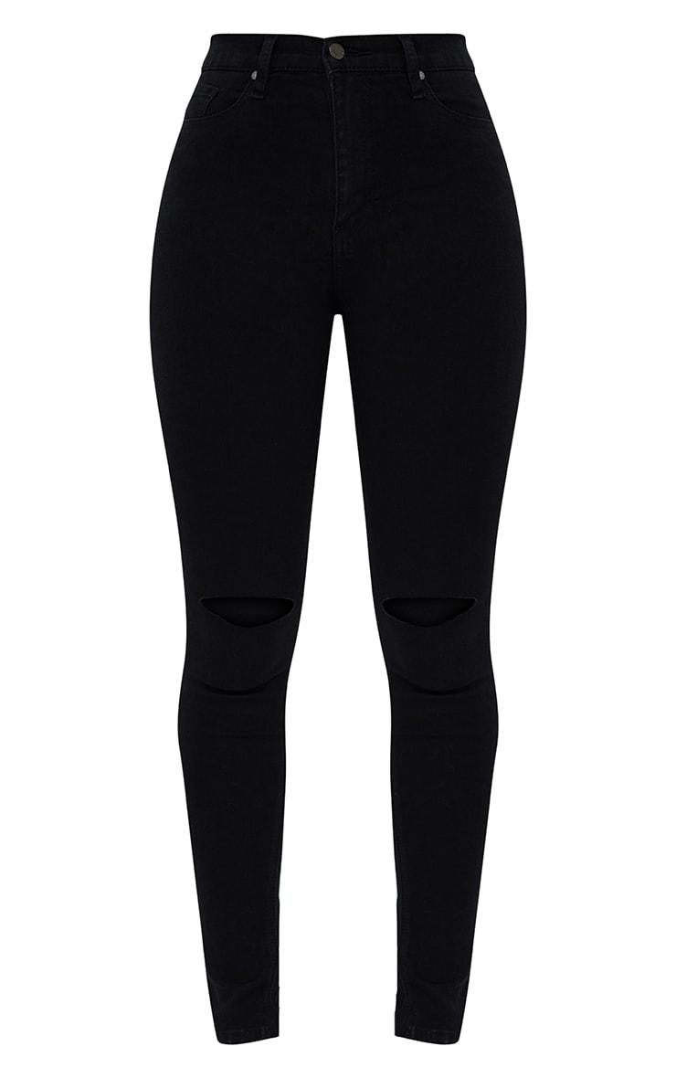 Kat Black Ripped Skinny Jean 3