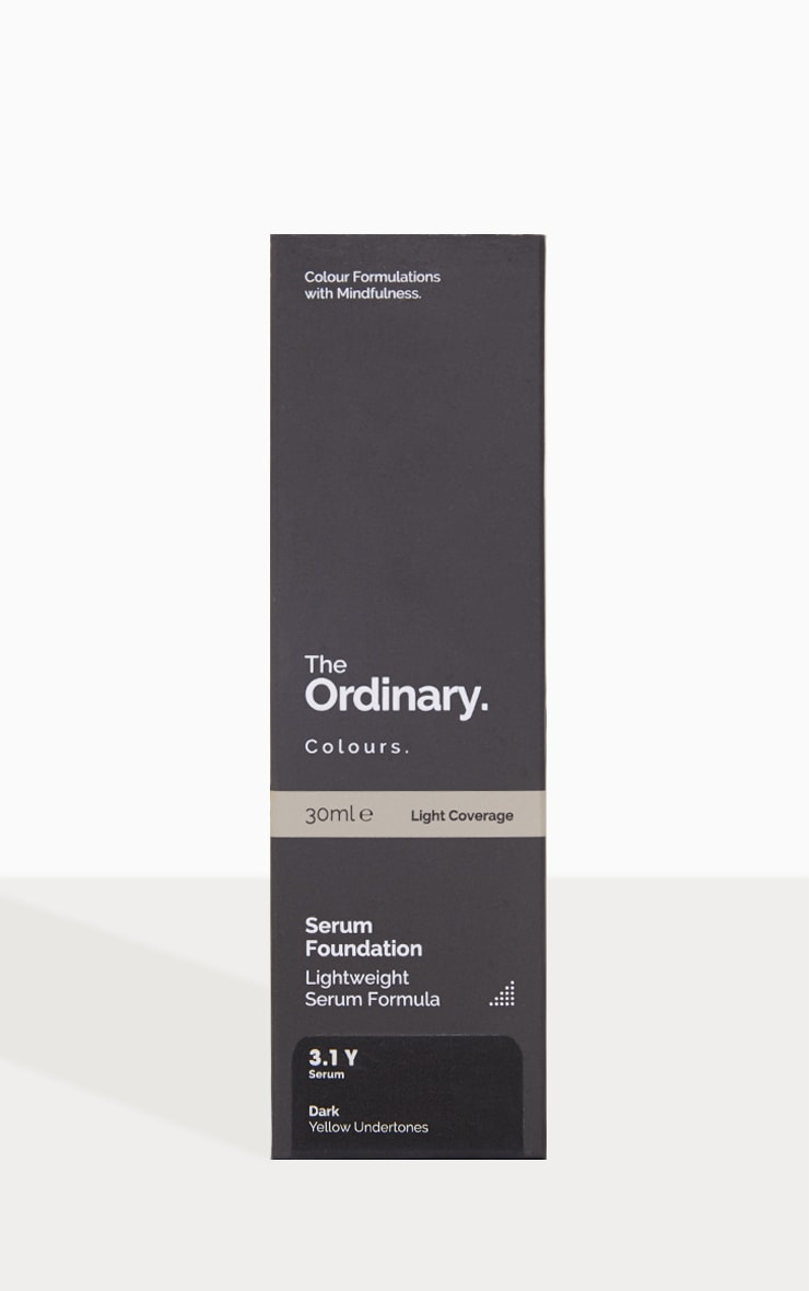 The Ordinary Serum Foundation 3.1Y Dark 2