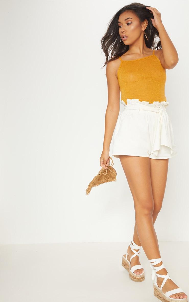 Mustard Lightweight Knit Cami Top 4
