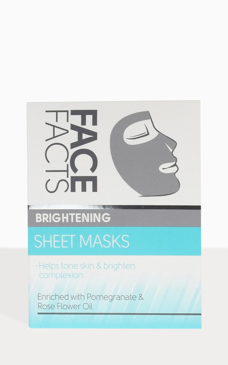 Face Facts Brightening Sheet Mask 1