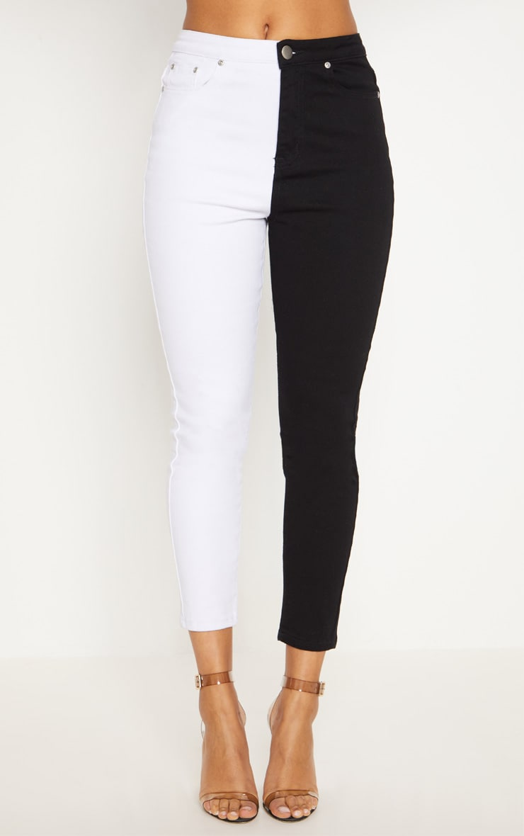Monochrome Contrast Skinny Jean 6