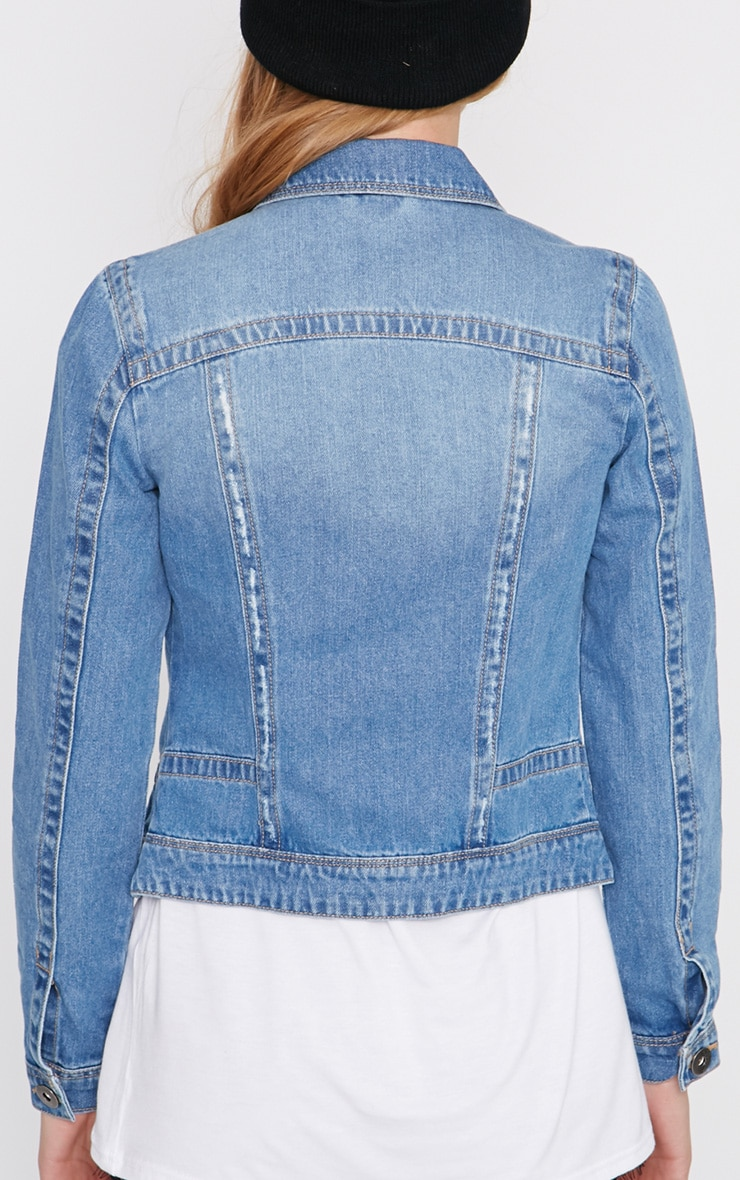 Alex Blue Denim Jacket  2