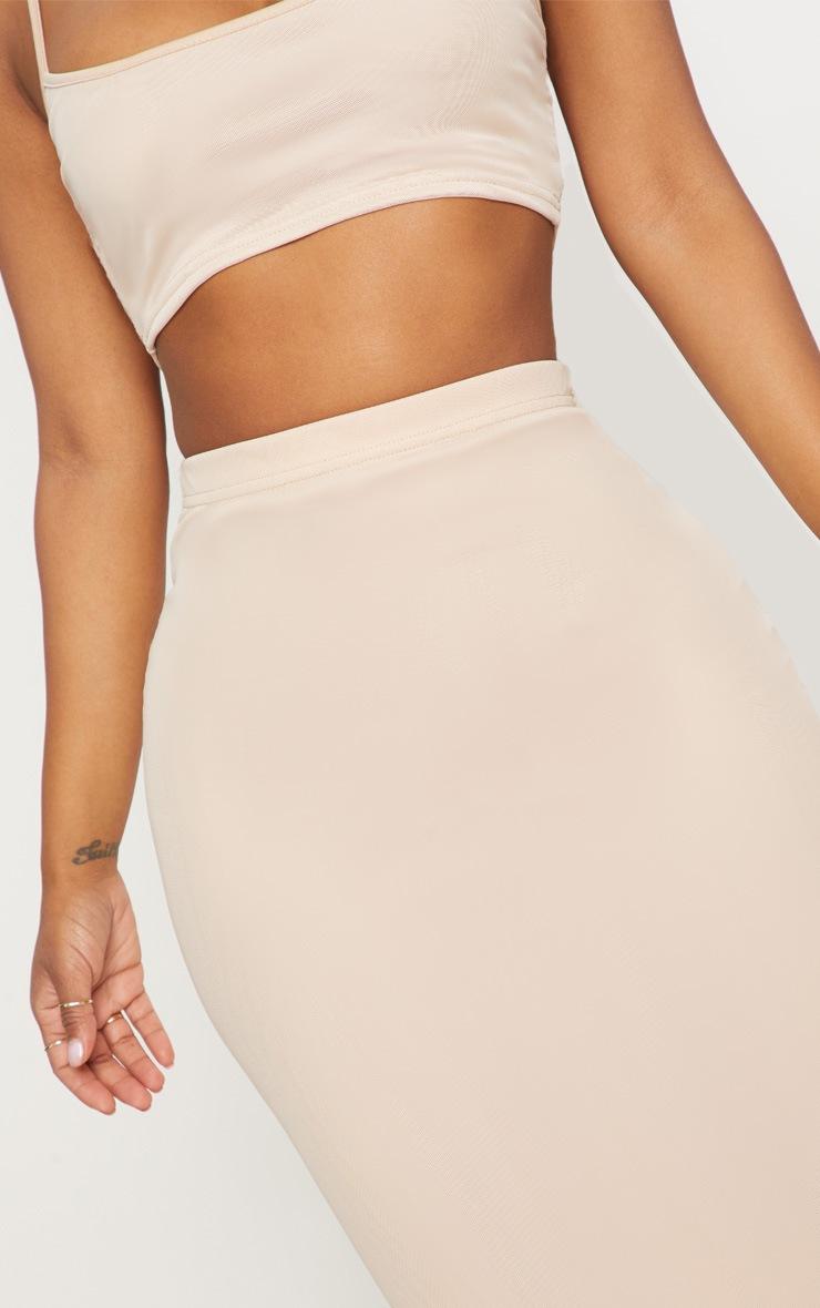 Shape Nude Mesh Midaxi Skirt 5