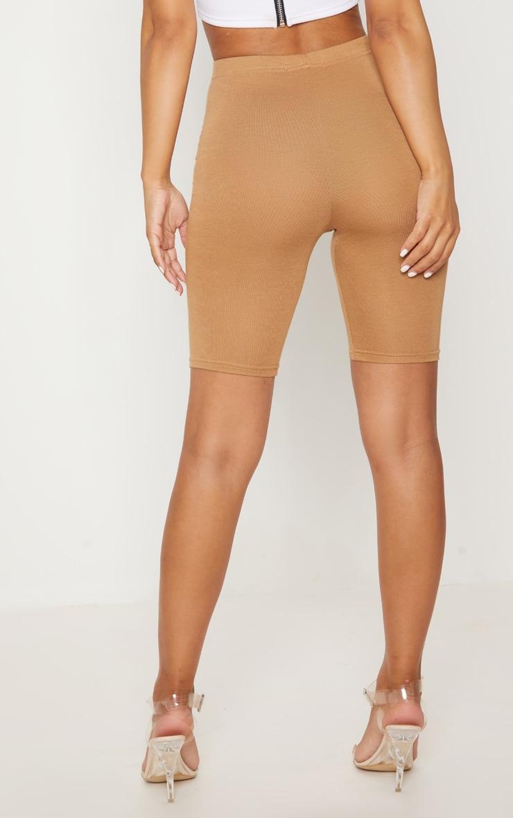 Petite Camel Basic Cycle Shorts 4