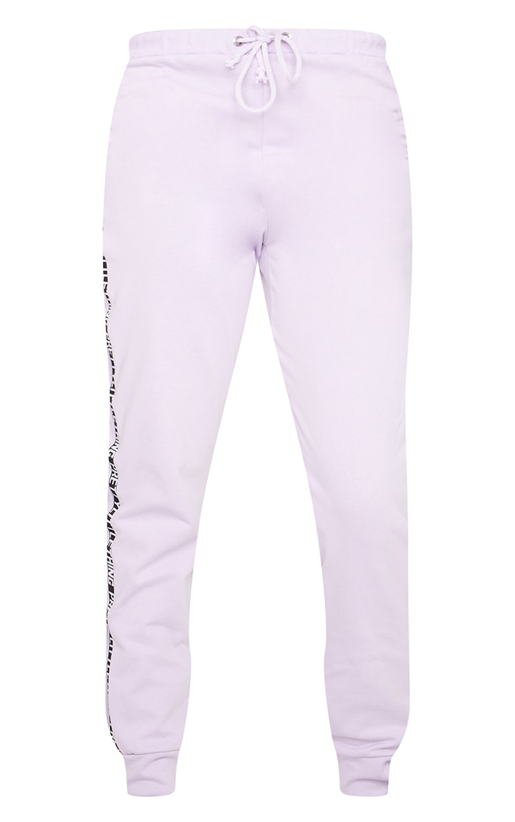 PRETTYLITTLETHING Tall Lilac Joggers 5