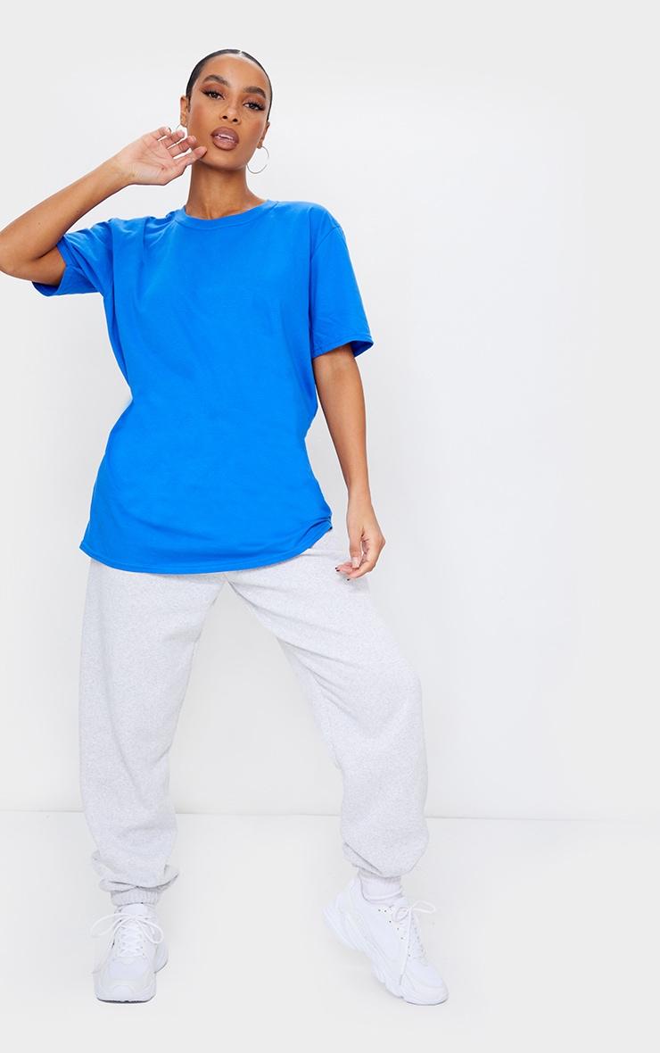 Royal Blue Sports Club Back Printed T Shirt 3
