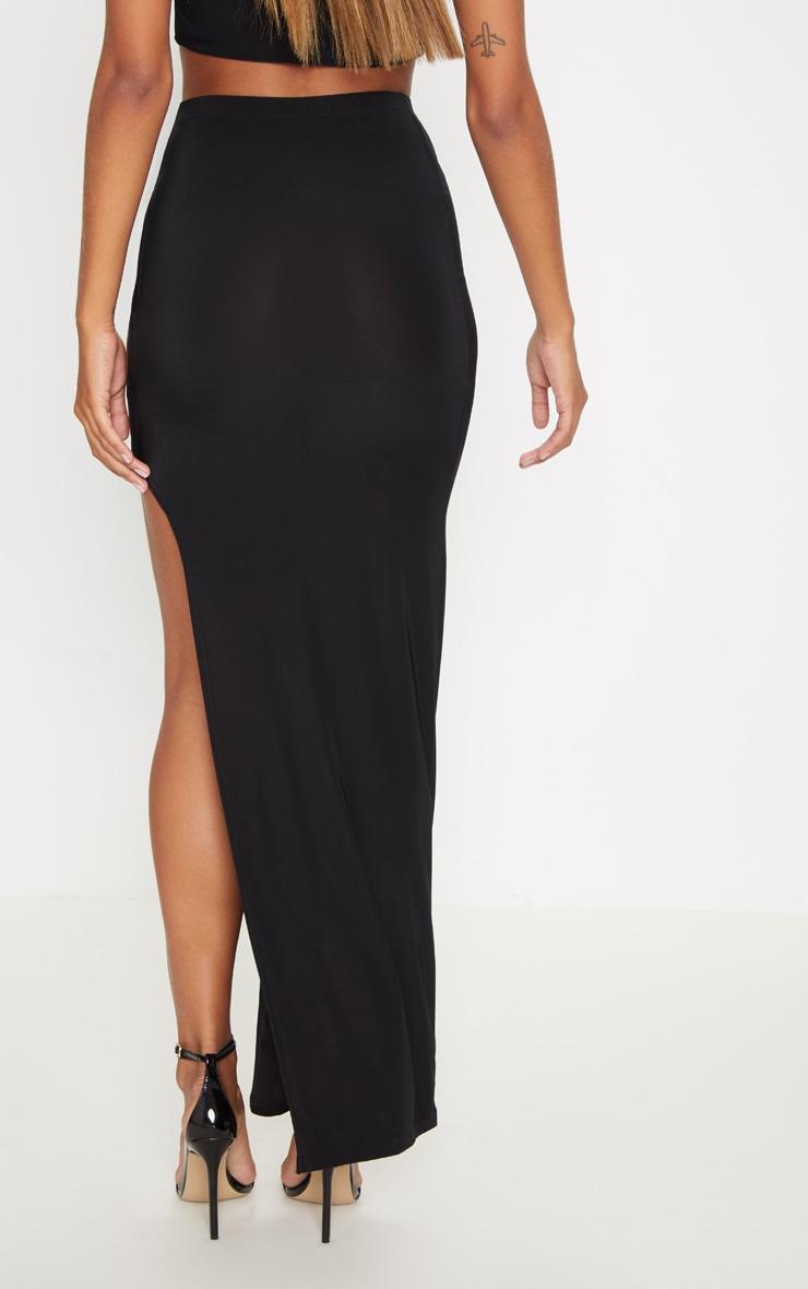 Black Cut Out  Midaxi Skirt 4