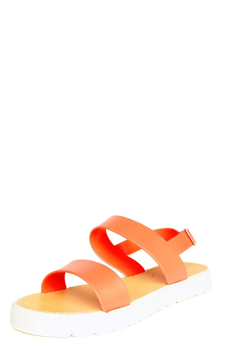 Anneli Coral Rubber Sandals 3
