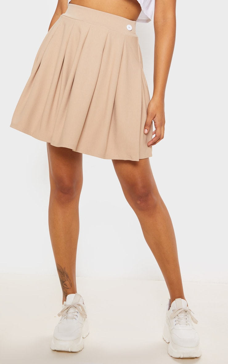 Stone Pleated Tennis Skirt 2