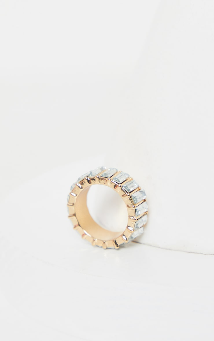 Crystal Eternity Band Ring 2