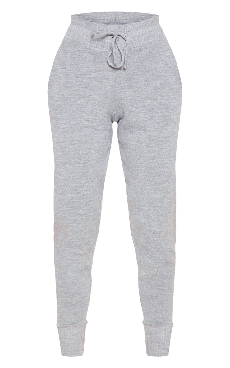 Grey Knitted Jogger 3