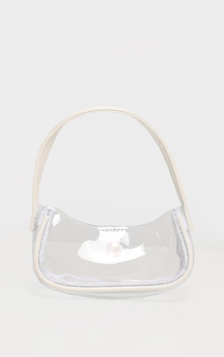 Mini sac à main en plastique transparent 3