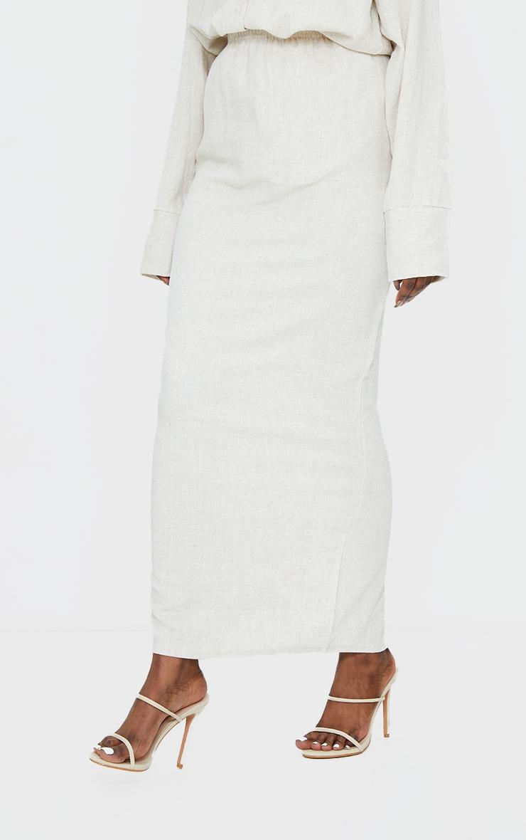 Stone Woven Midi Skirt 2