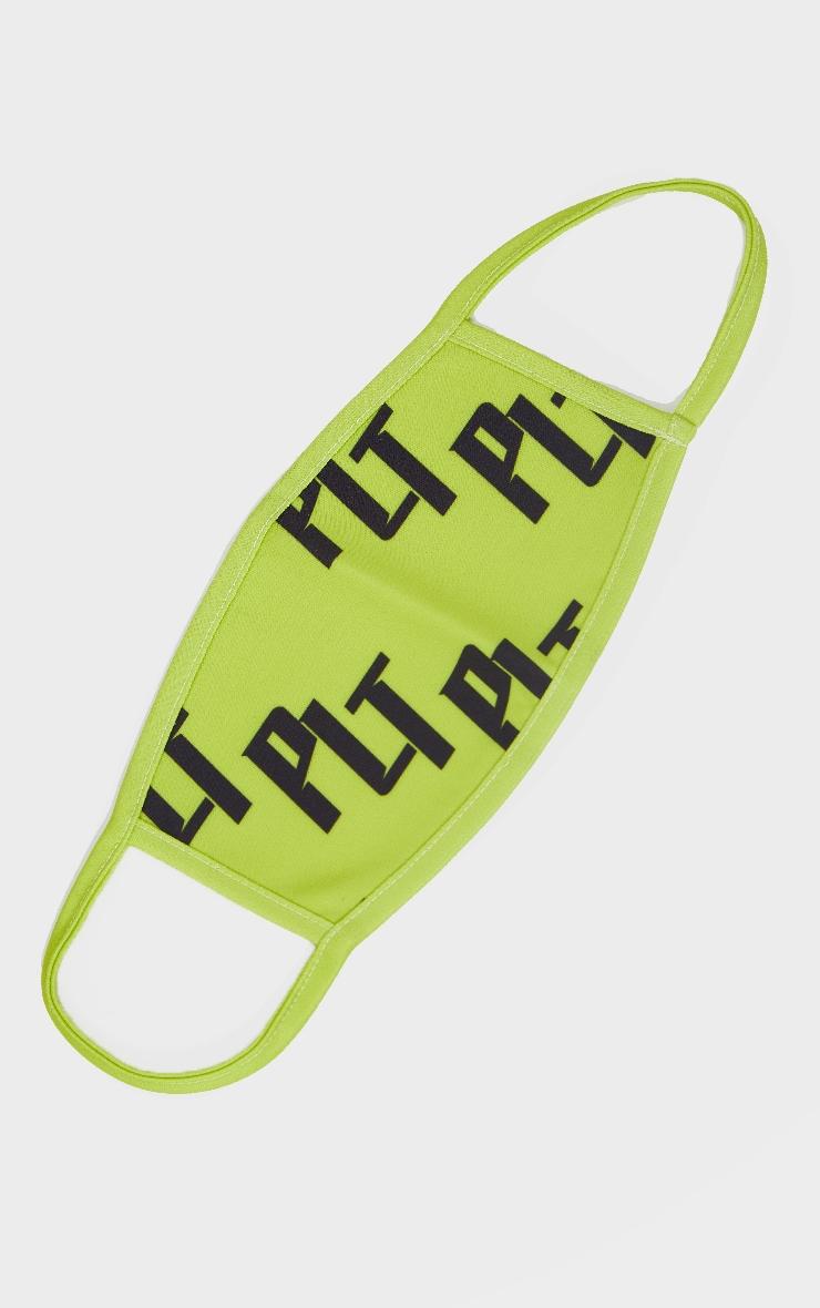 PLT Lime Fashion Mask 1