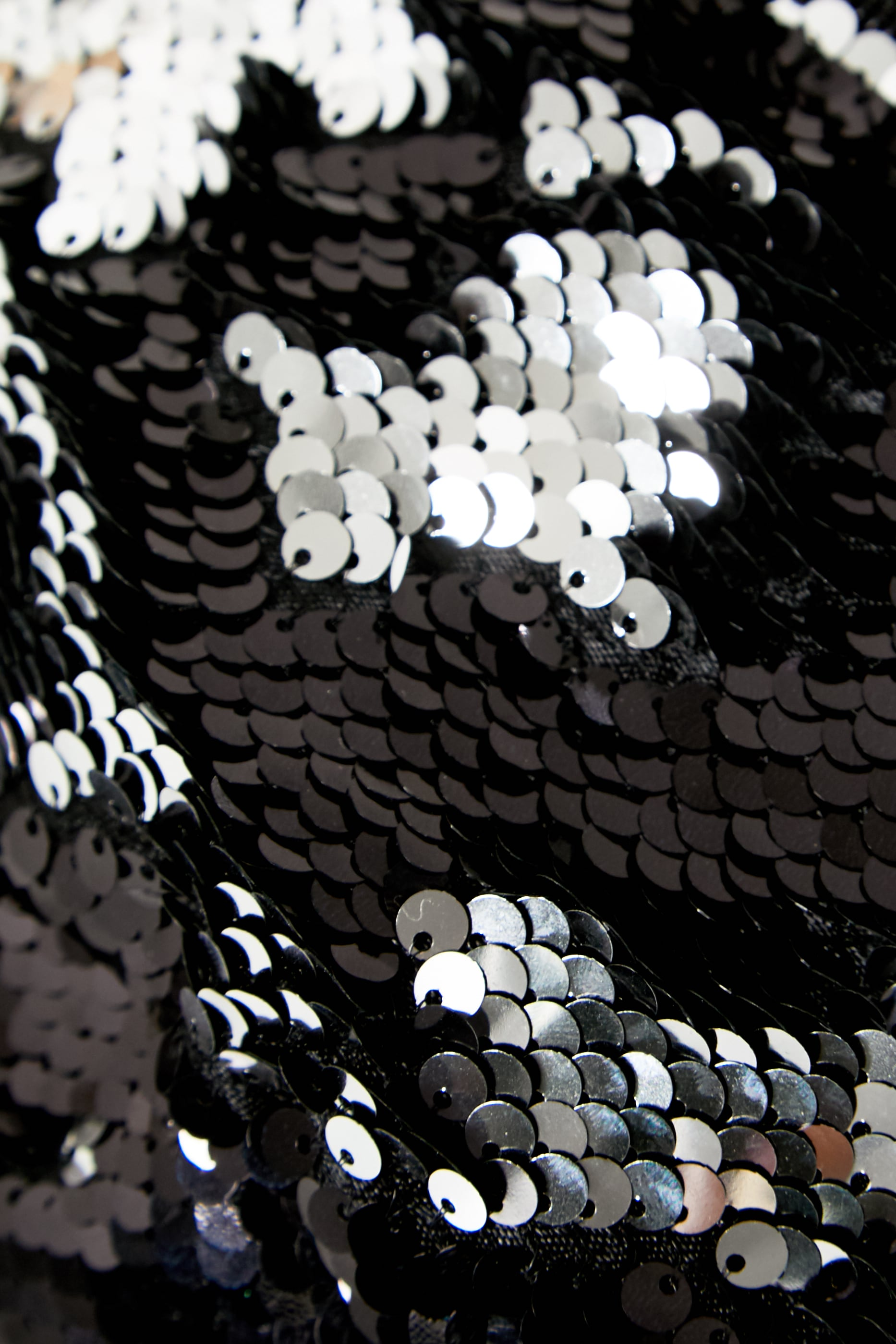 Black Sequin Bum Bag 5