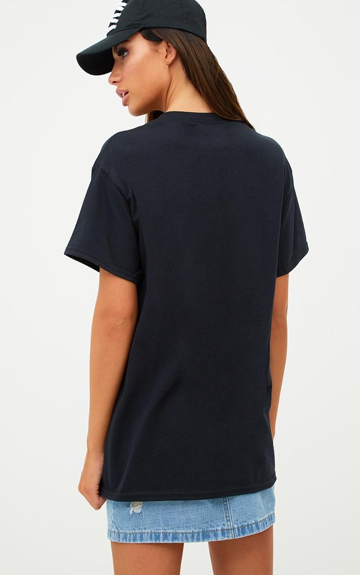 100% My Type On Paper Slogan Black T Shirt 2