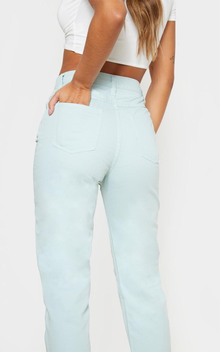 Mint High Waist Mom Jeans 5