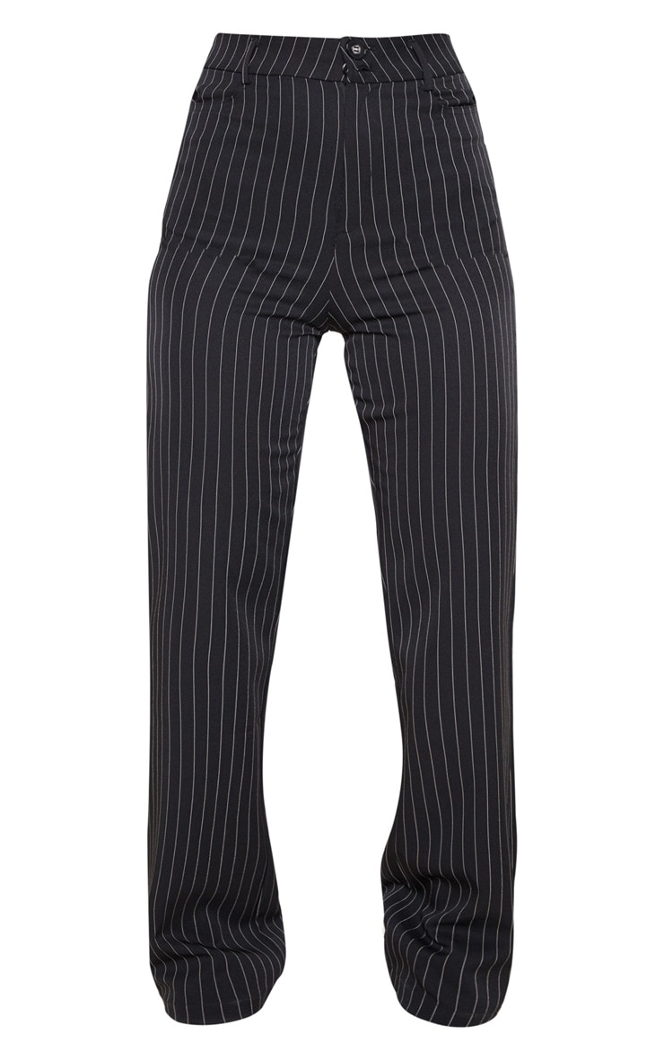 Black Pinstripe Trouser 4