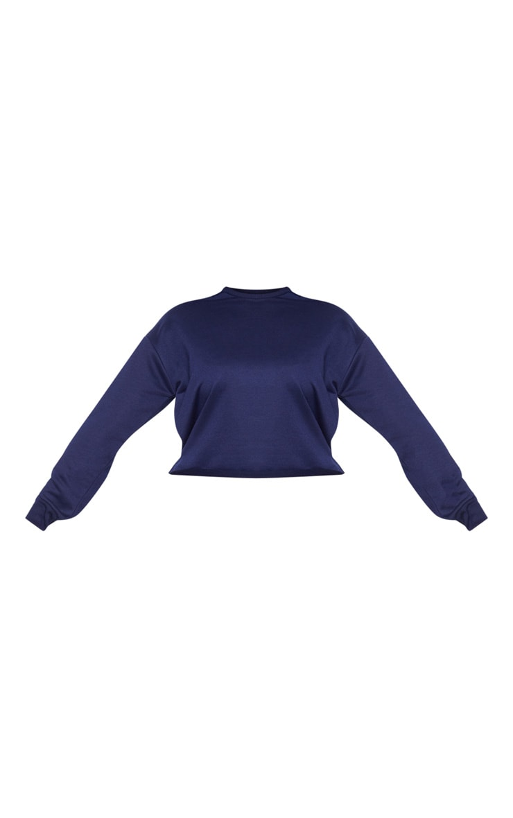 Plus Navy Sweater 3