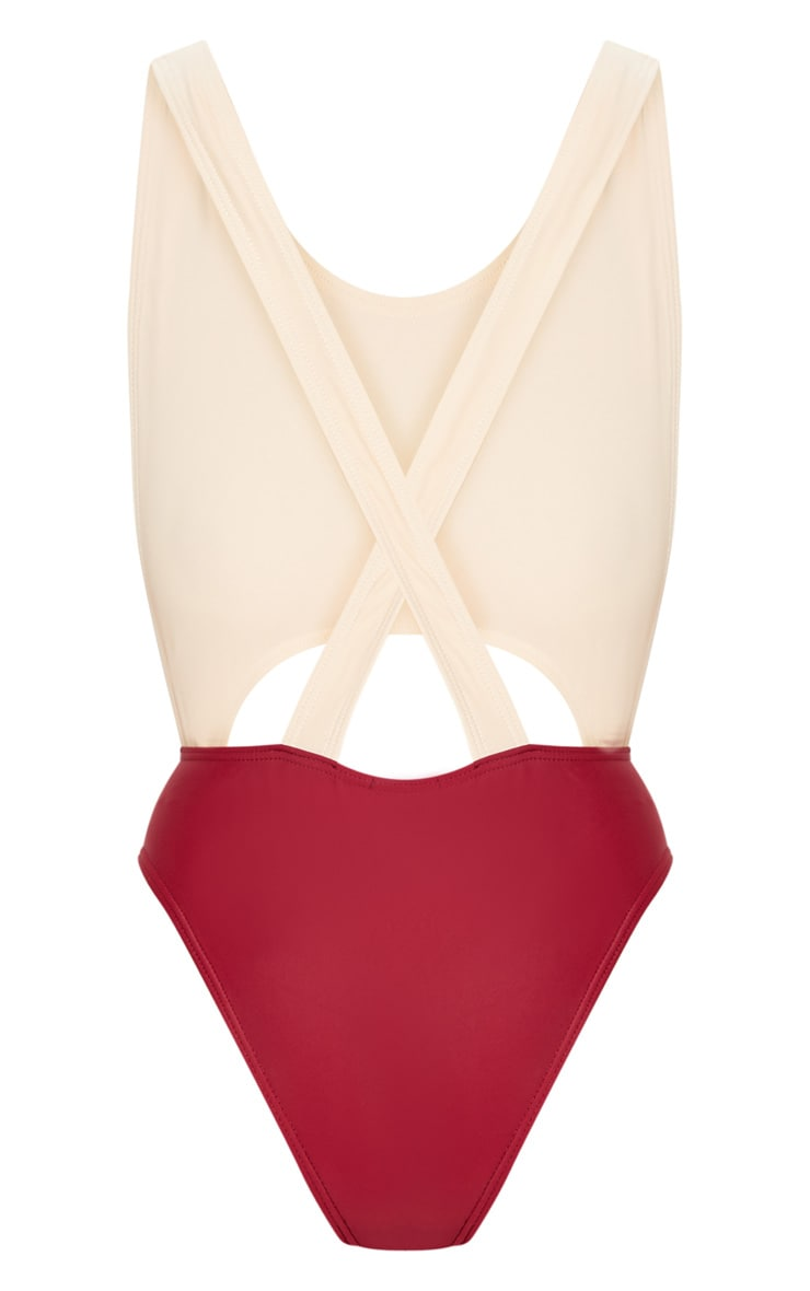 Gretchen Nude Cut Out Swimsuit 4