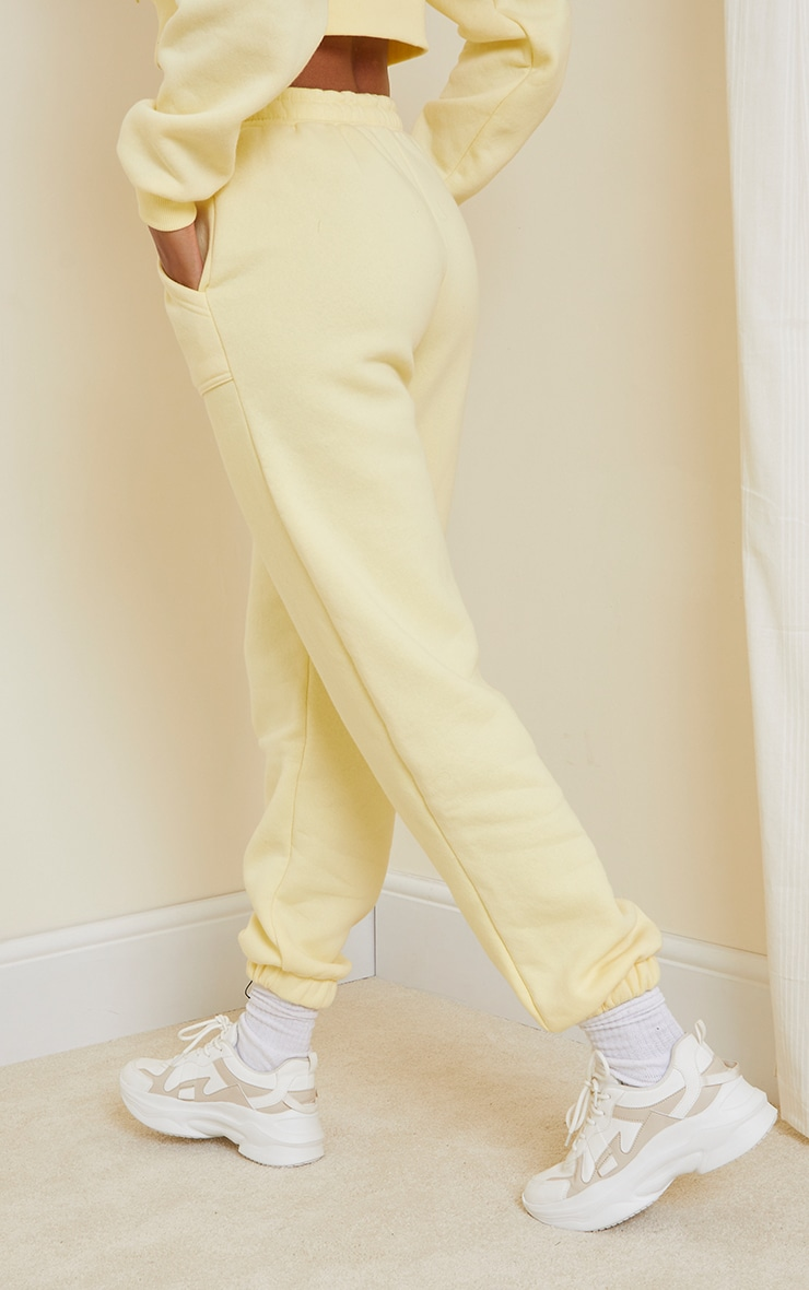 Lemon Pocket Cuffed Joggers 3