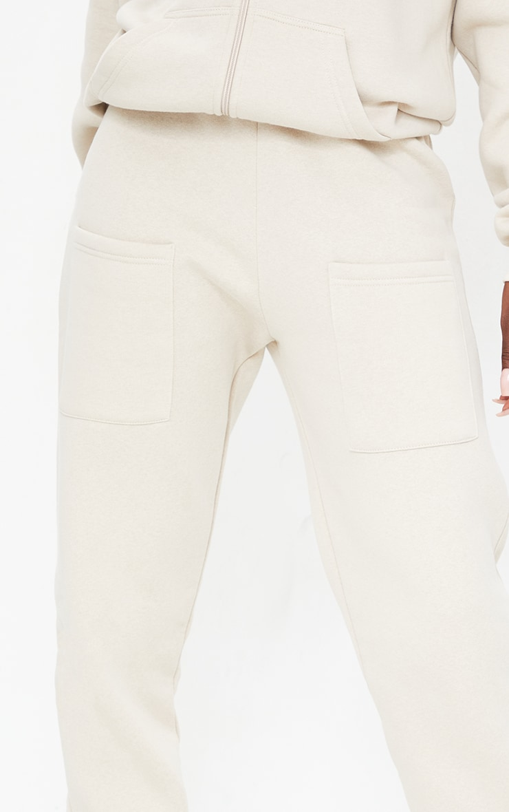 Tall Stone Pocket Thigh Casual Joggers 4