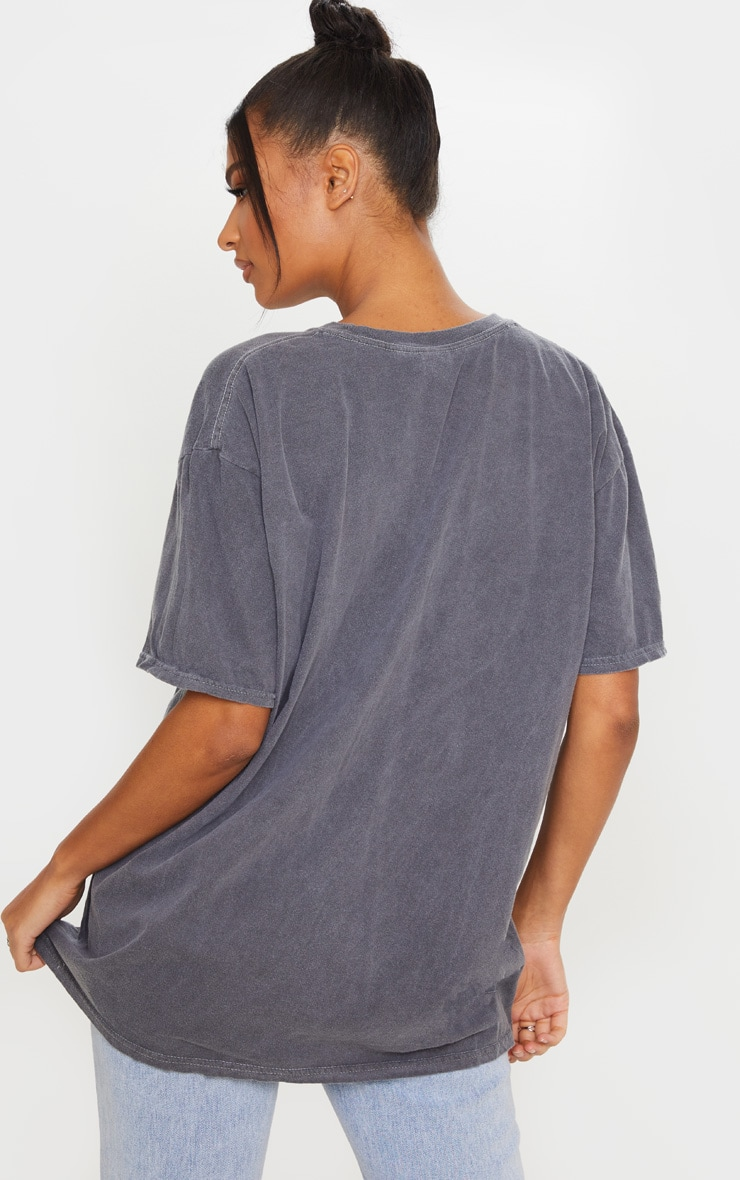 Grey Space Jam Washed T Shirt 2