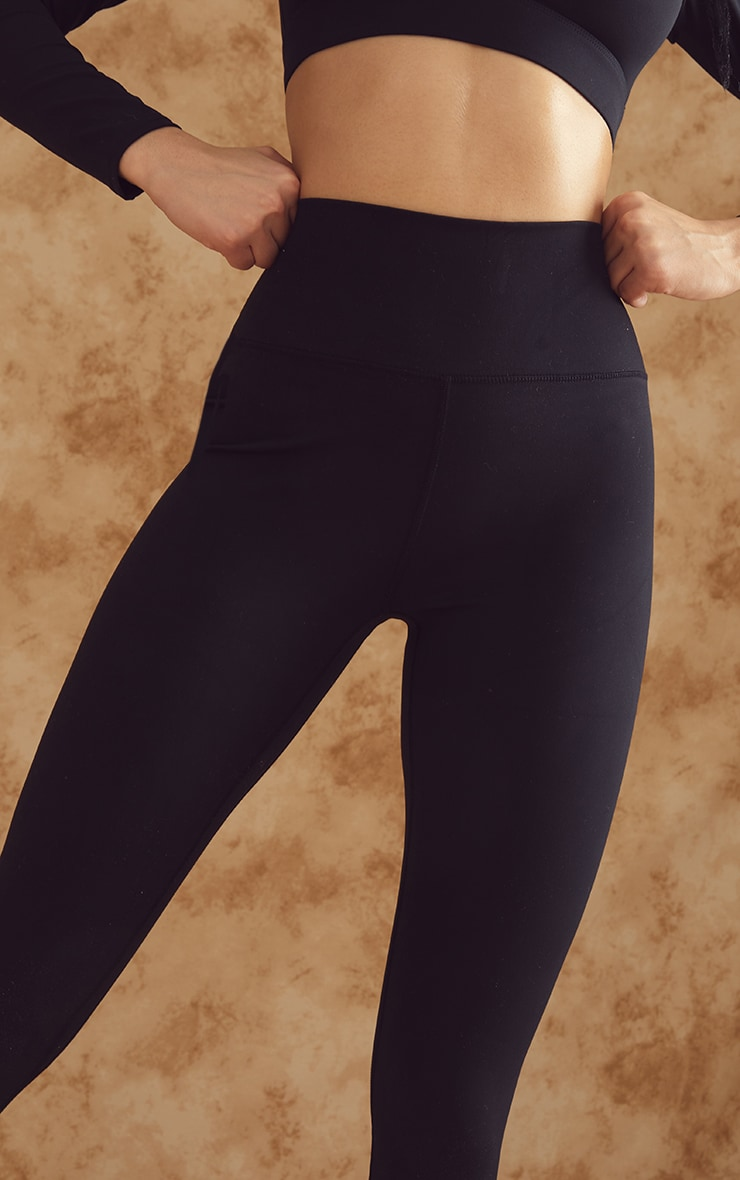 Black Sculpt Luxe High Waist Gym Legging 4