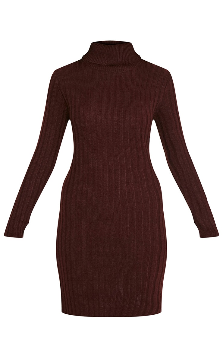 Bianca Berry Ribbed Roll Neck Jumper 3
