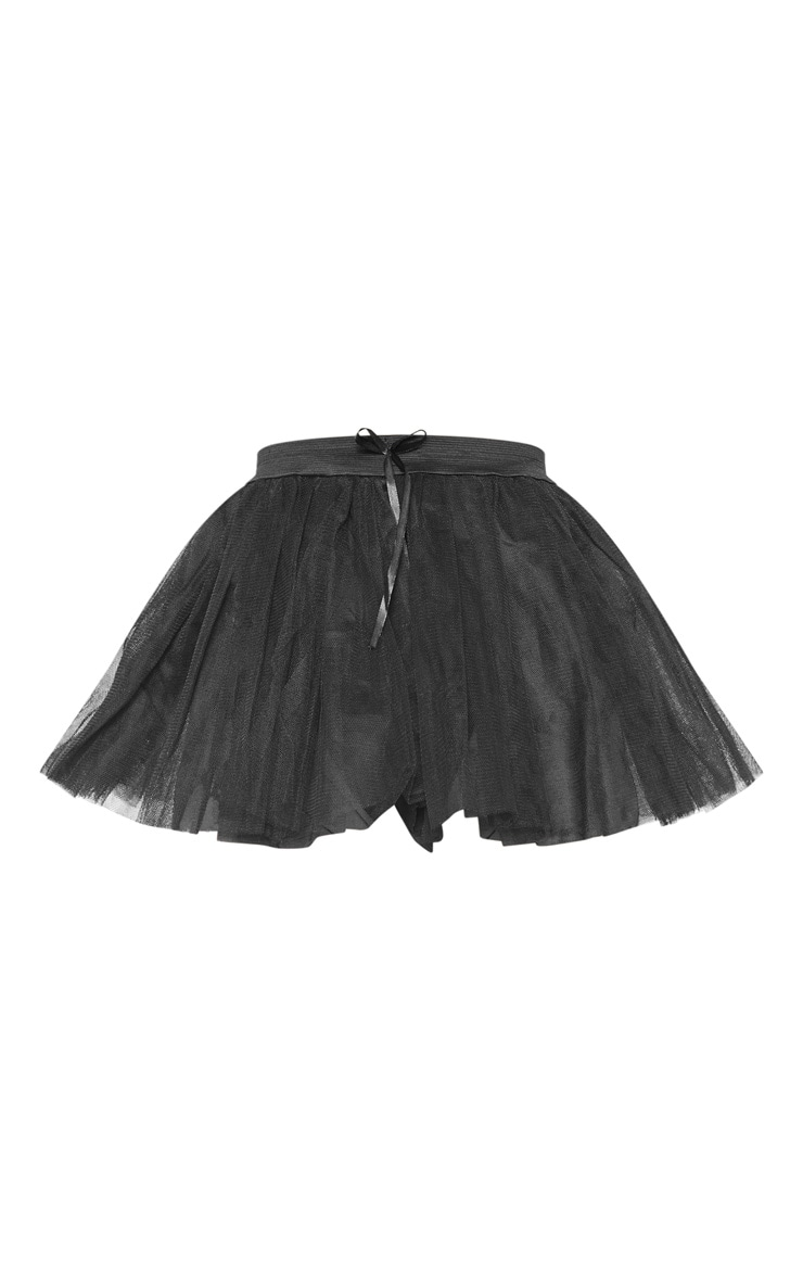 Black Basic TuTu Skirt 3