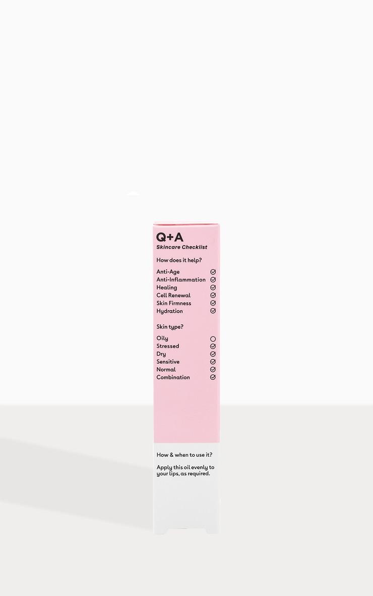 Q+A Liquorice Lip Oil 15ml 4