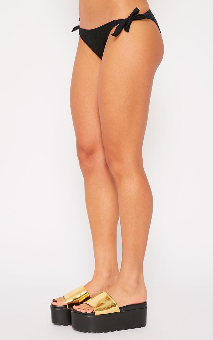 Saffi Black Lace Bikini Bottoms 3